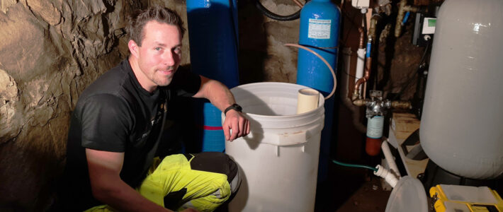 Service på privat renseanlegg for vann