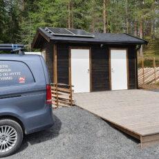 Oppgradert toalettanlegg på Bergesjøen
